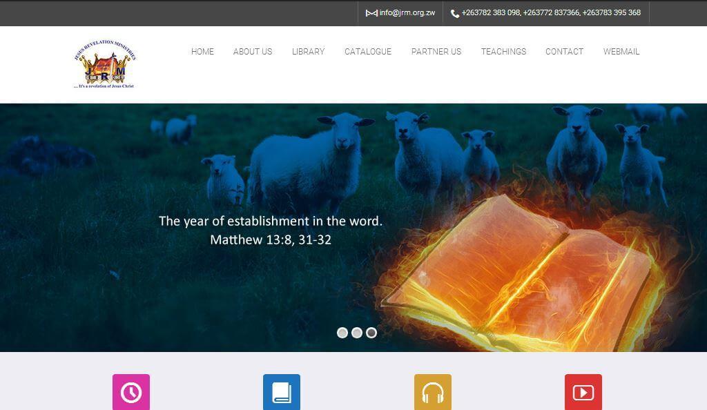 jrm website design